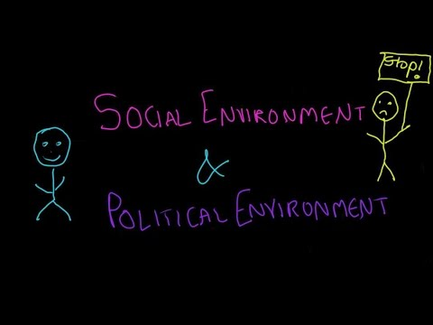 Business Environment Part - 3, Social & Political Environmen