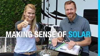 MAKING SENSE OF SOLAR + ZAMP GIVEAWAY (OUR RV SOLAR SETUP - PART 1)