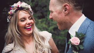 Wedding video - Jo & Andy bohemian wedding
