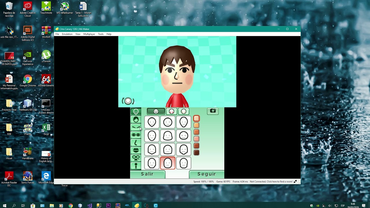 How To Run Mii Maker On Citra
