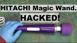 boltr hitachi magic wand modded to usb power bank
