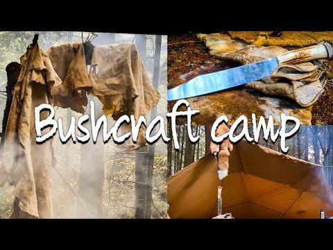 Bushcraft Camp | Traditional Skills | Buckskin Tanning