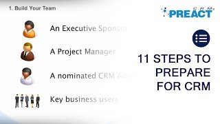 How to Plan a CRM Project - CRM strategy planning advice from a UK consultancy partner