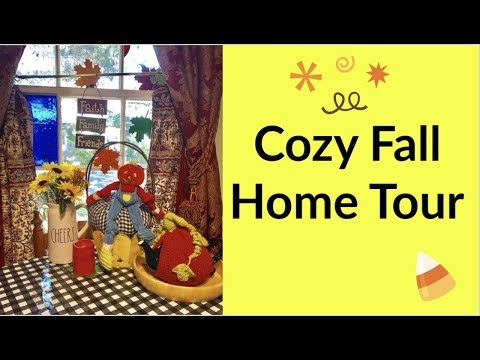 Cozy Fall Home Tour 2019 | Fall Decorating and Decor Ideas For Your Home