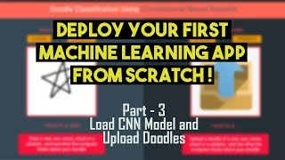 How to Deploy Machine Learning Model from Scratch | Part - 3
