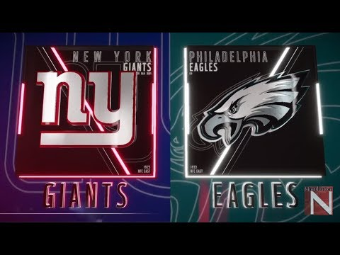New York Giants vs Philadelphia Eagles Madden 19 Full Game Simulation Nation