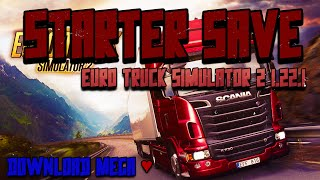 [ SAVEGame ] STARTER SAVE GAMES EURO TRUCK SIMULATOR 2 + MODS - DOWNLOAD