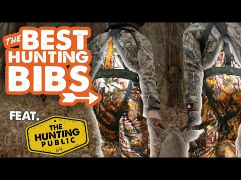 The BEST Hunting Bibs | Feat. The Hunting Public