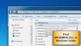 How to enable AC3 filter for Windows Media Player 12