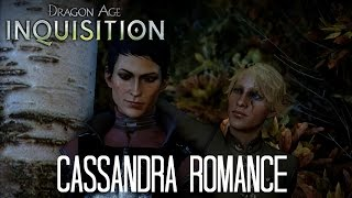 Dragon Age Inquisition - Cassandra Romance (Male Elf)