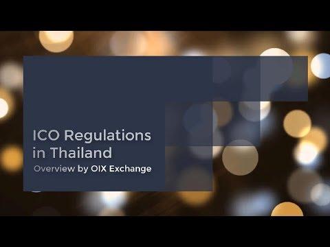 ICO Regulations in THAILAND