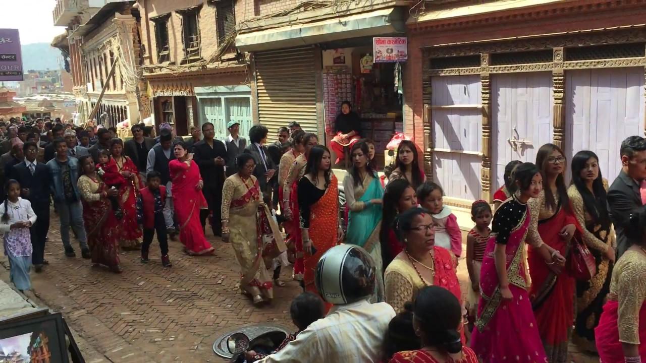 Nepalese wedding procession youtube nepalese wedding procession junglespirit Images