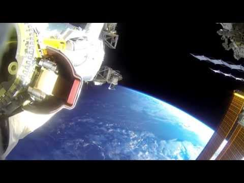ISS Expedition 42: US EVA #30 GoPro footage