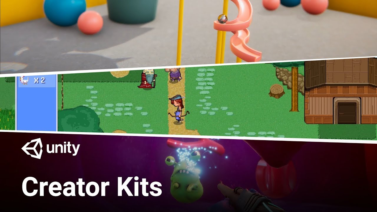 Creator Kits – Get creating quickly – Unity Blog