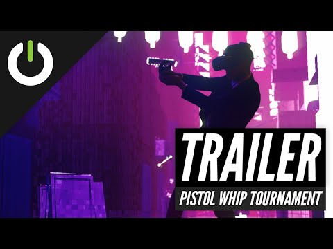 Official Pistol Whip Tournament - Virtual Athletes League - Trailer