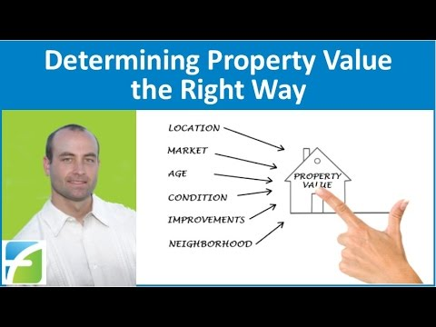 Determining Property Value the Right Way