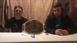 WWE Intercontinental Championship Commemorative Unboxing and review -PM Reviews