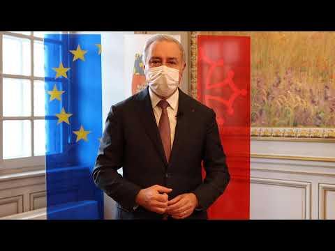 Super League #TOgether - Soutien de Mr le Maire Jean-Luc MOUDENC