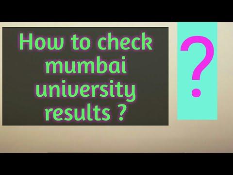 How To Check Mumbai University Results?