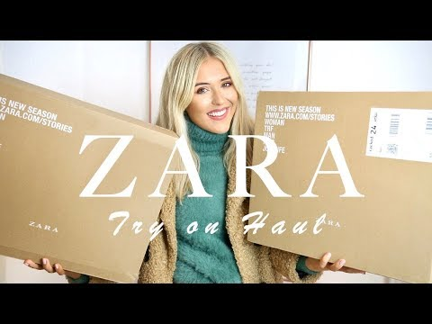ZARA TRY ON HAUL - AUTUMN/FALL + NASTY GAL | Em Sheldon