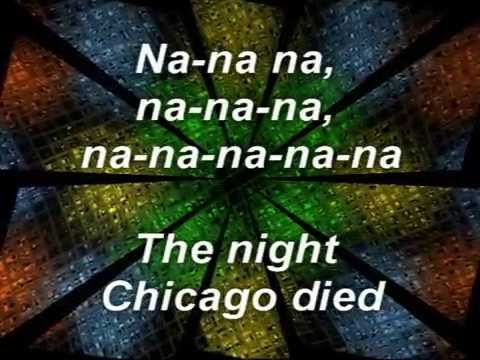 Paper Lace, The Night Chicago Died, w/lyrics