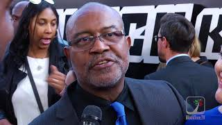 Ron Stallworth Red carpet BlacKkKlansman
