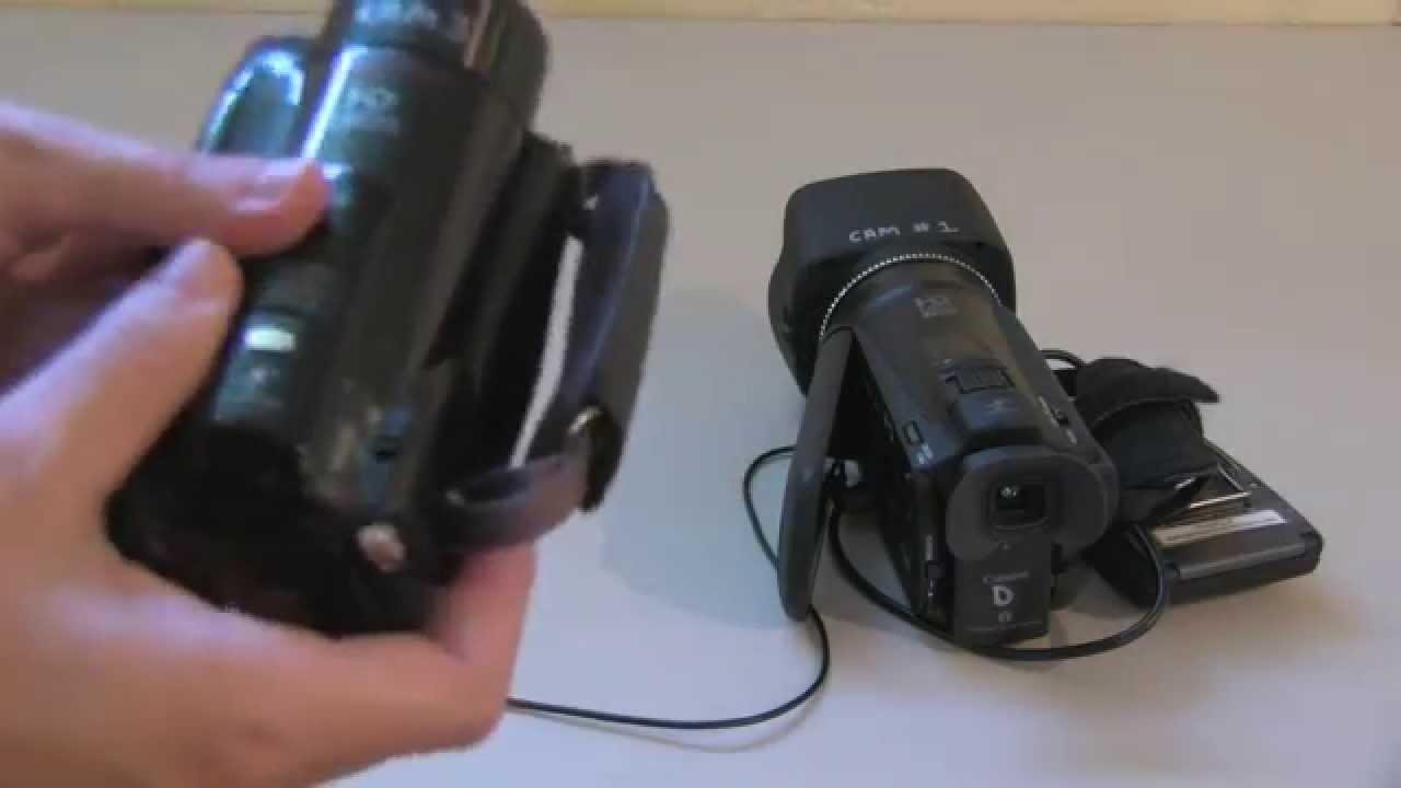 Canon VIXIA HF M30 Windows 8