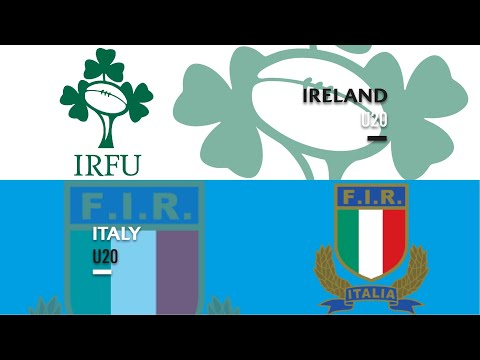 World Rugby U20s 2019 - Ireland v Italy - FULL MATCH