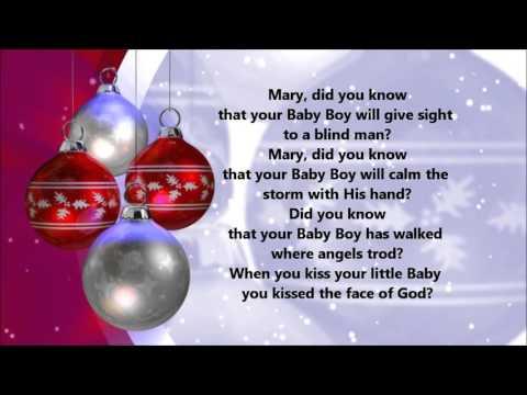 Mary Did You Know (Lyrics)