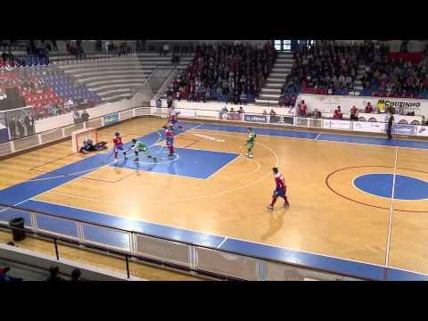 Hoquei Patins :: Oliveirense - 1 x Sporting - 4 de 2014/2015 Taça Cers 1/4 Final - 2ª mão