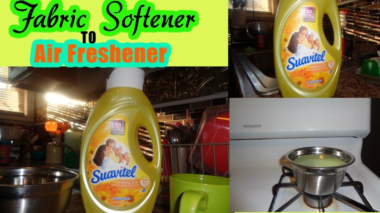 Using Liquid Fabric Softener