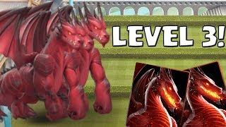 LEVEL 3 DRACHE! - LEGENDARY! || CASTLE CRUSH || Let