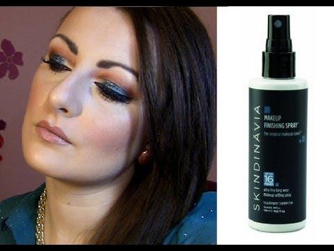 Skindinavia Makeup Finishing Spray Review - YouTube