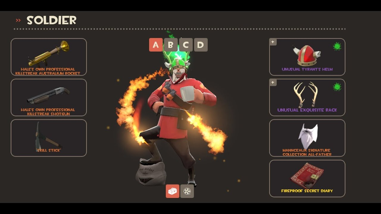 my favourite tf2 loadouts unusual taunts  [ 1280 x 720 Pixel ]