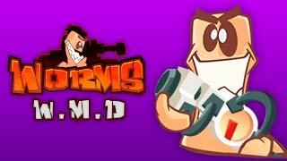 TEAM BATTLE! | Worms W.M.D. 2v2 (Bryce & H2O Delirious vs Cartoonz & Ohm)