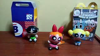 Meine sammlung von spielzeugen dd Mcdonald ' s Die Powerpuff Girls Cartoon Network, 2008