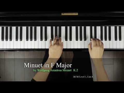 Finger Tips: Minuet in F Major