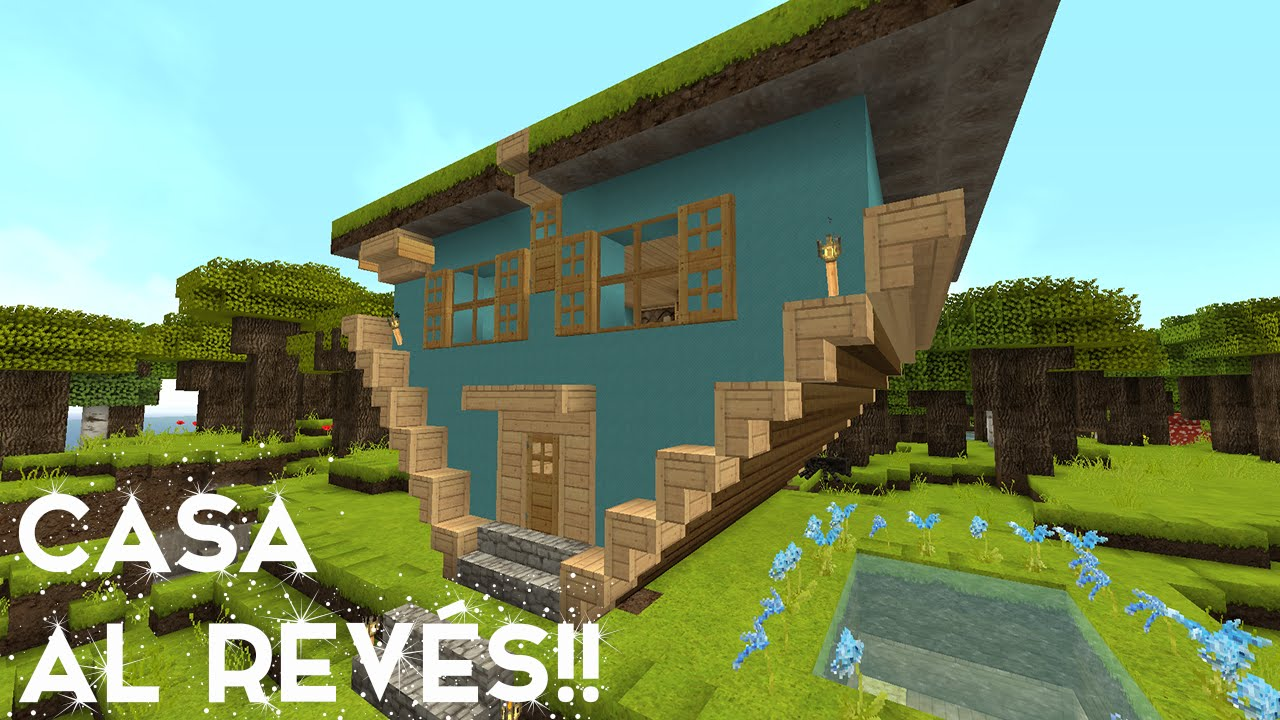 Como hacer una casa al reves en minecraft youtube for Como modernizar una casa