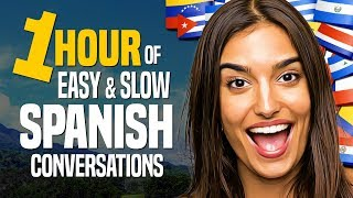 Learn SPANISH: A 1-HOUR Begİnner Conversation Course (for daily life) - OUINO.com