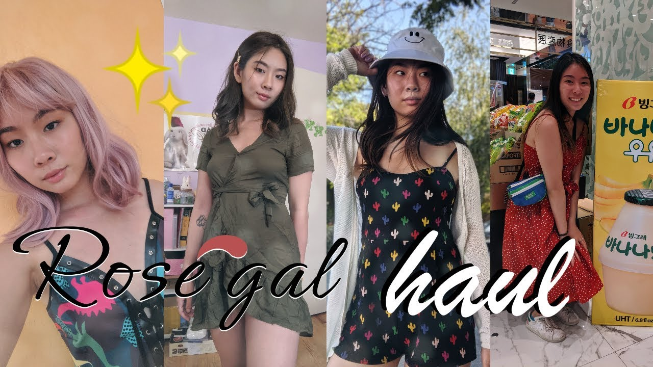 HONEST $100 rosegal try on haul + summer outfits (wig snatched) 4