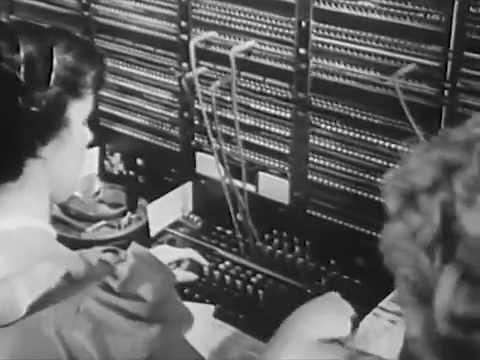 Long Distance Telephone Calls: Speeding Speech - circa 1950 - CharlieDeanArchives / Archival Footage