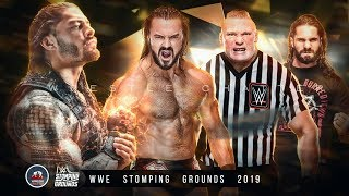 WWE Stomping Grounds 2019 Winners & Results Revealed   Highlights   Results Predictions   Match Card