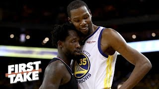 LeBron would never let Patrick Beverley affect him like Kevin Durant has - Stephen A. | First Take