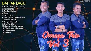 Omega Trio Full Album Vol 3 |  Lagu Batak Terbaru 2020