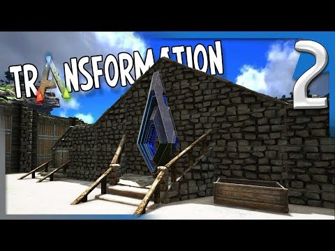 HELPING WITH THE COMMUNITY CENTER! | ARK: Survival Evolved Modded Transformation Gameplay E2