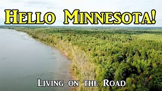 Hello Minnesota! - Living on the Road