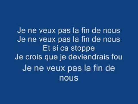 Michael Jackson - Je Ne Veux Pas La Fin De Nous Lyrics