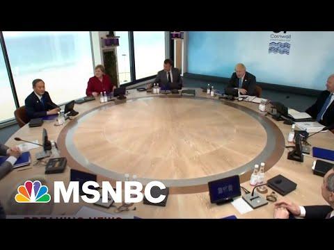 Biden, G-7 Leaders Will Endorse Global Minimum Tax Rate