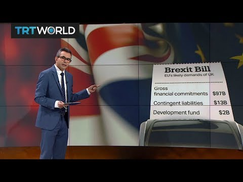 Money Talks: EU estimates UK should pay $112B for Brexit