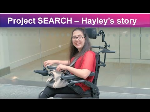 Project SEARCH at GSK – Hayley's story